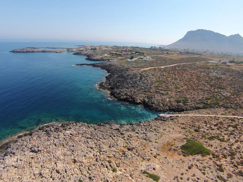land in Akrotiri Chania Crete for sale