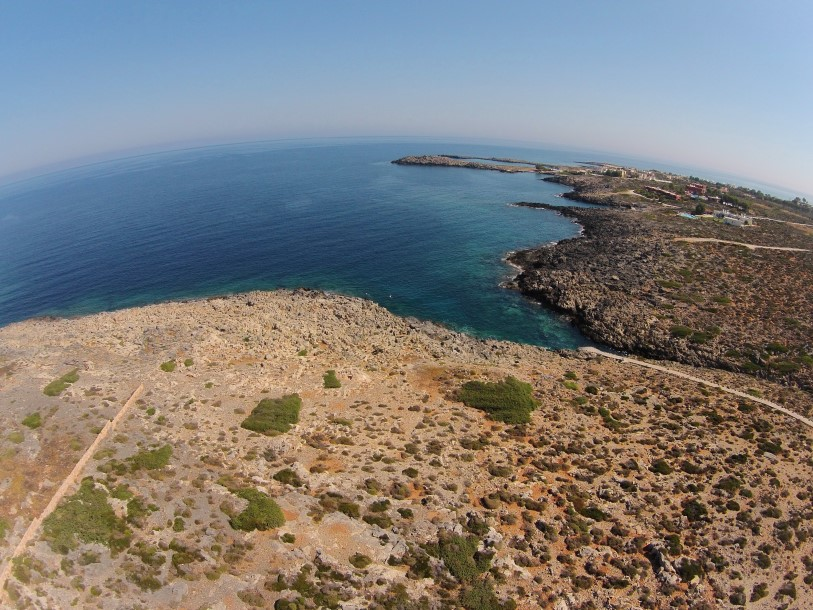 plot of land in Akrotiri Chania for sale