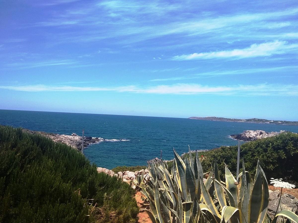 Seafront plots in Akrotiri Chania Crete for sale small cove AL258