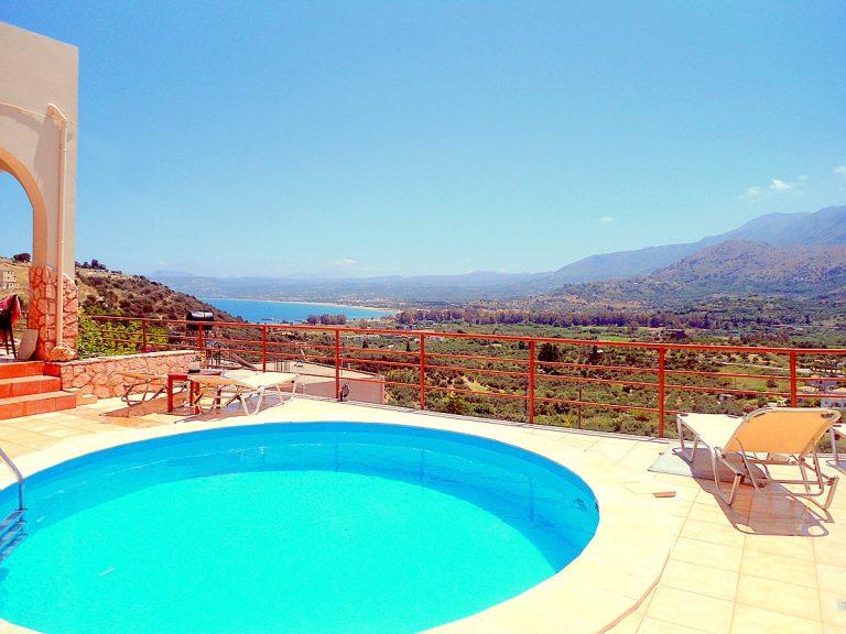house for sale in apokoronas chania pool