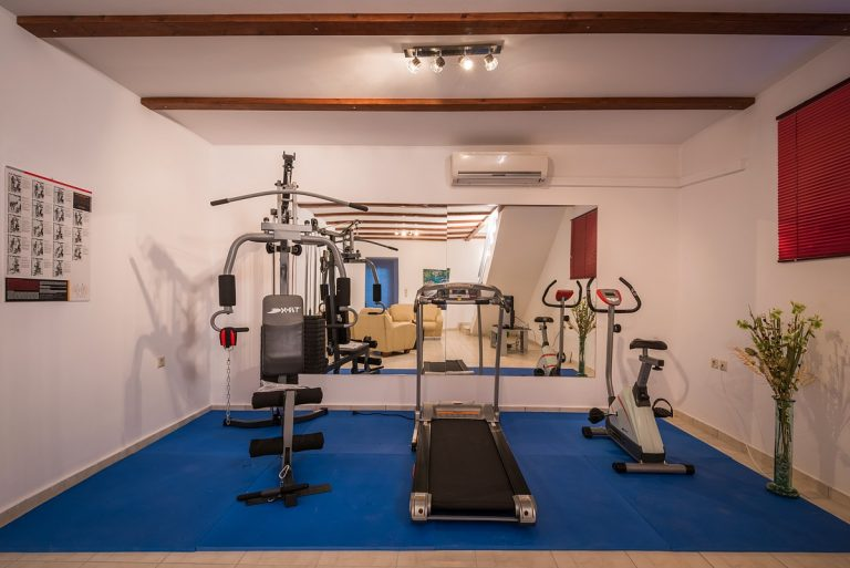 villas in chania crete for sale gym