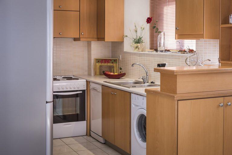 villas in chania crete for sale kitchen