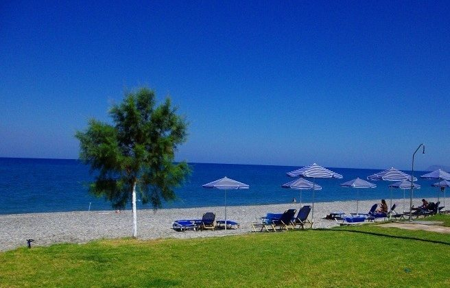 Seafront property in Maleme Platanias Chania Crete