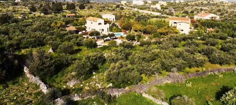 Plot of land in Apokoronas Chania Crete for sale