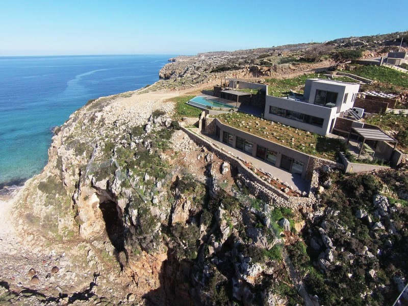 luxury villa for sale in chania panoramic view