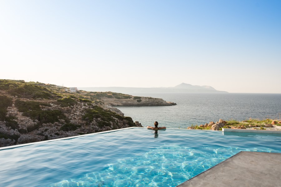 luxury villa for sale in chania pool