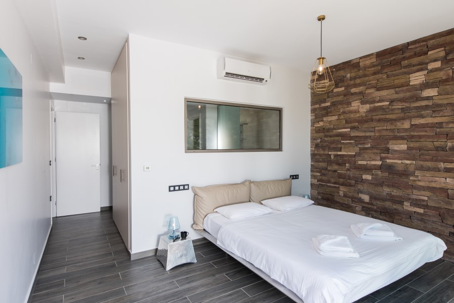 luxury villa for sale in chania bedroom