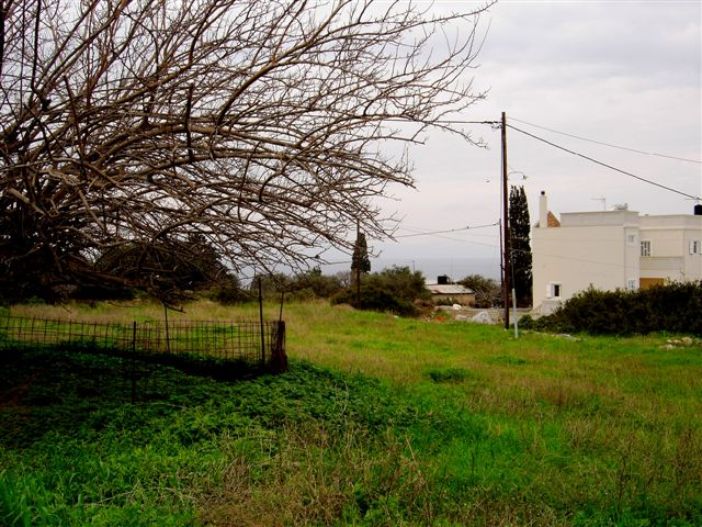 Plot of land in Akrotiri Chania Crete for sale high density al246