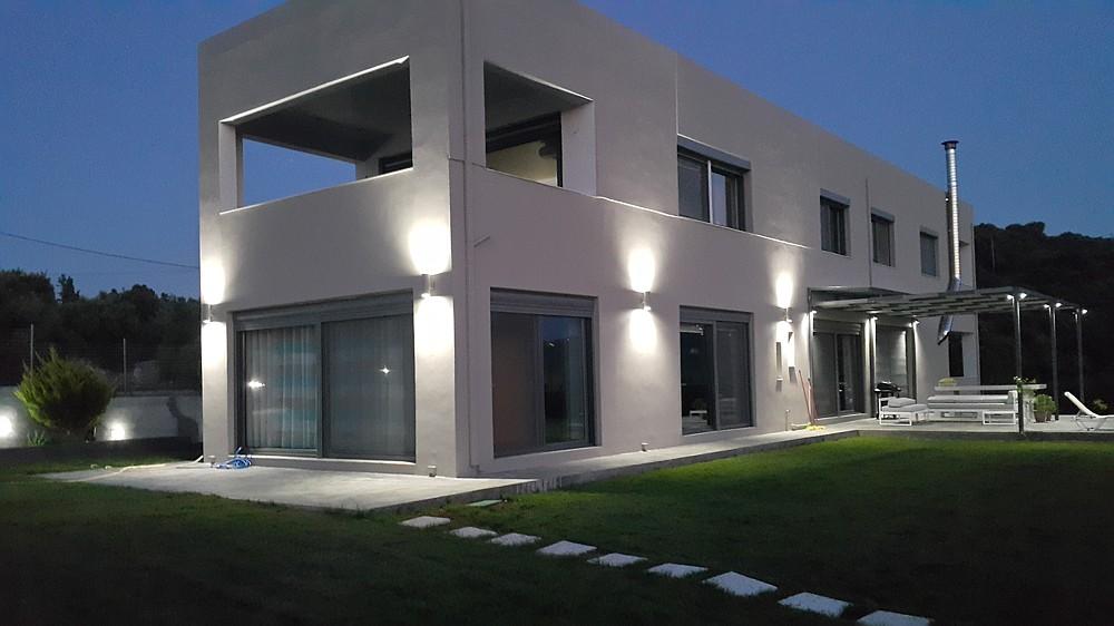 Designer villa with great view