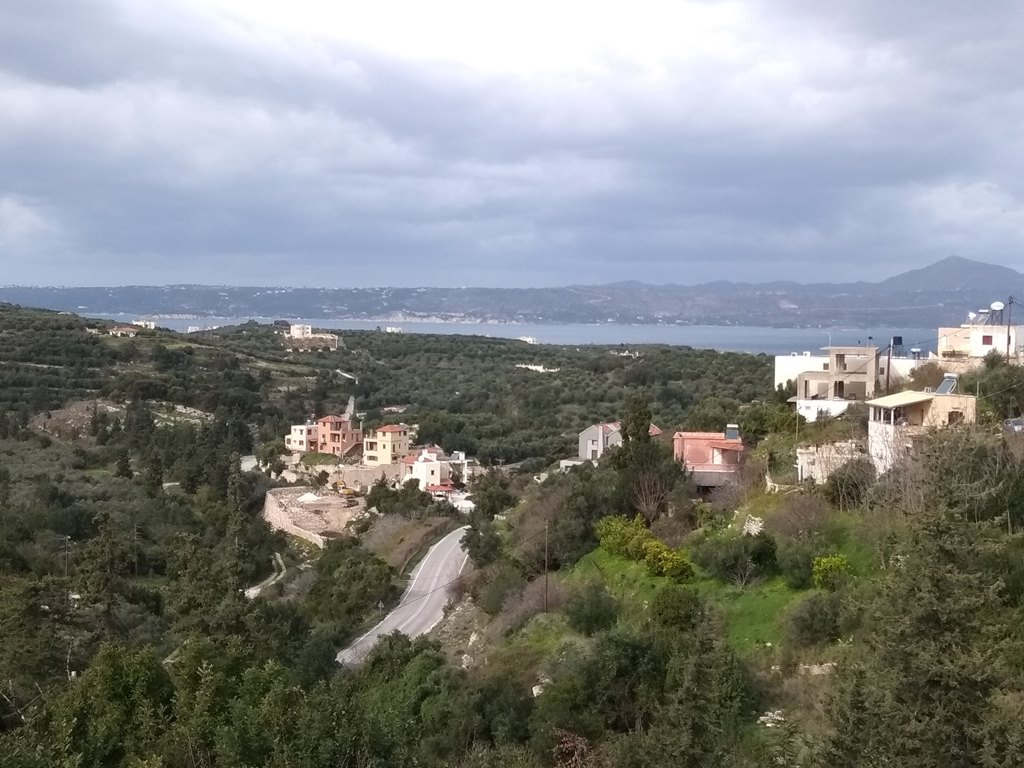 Land in Apokoronas Aspro with sea views