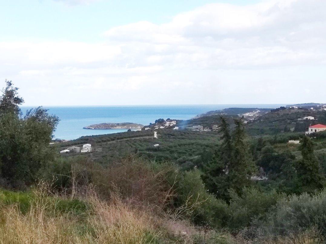 Land with panoramic views