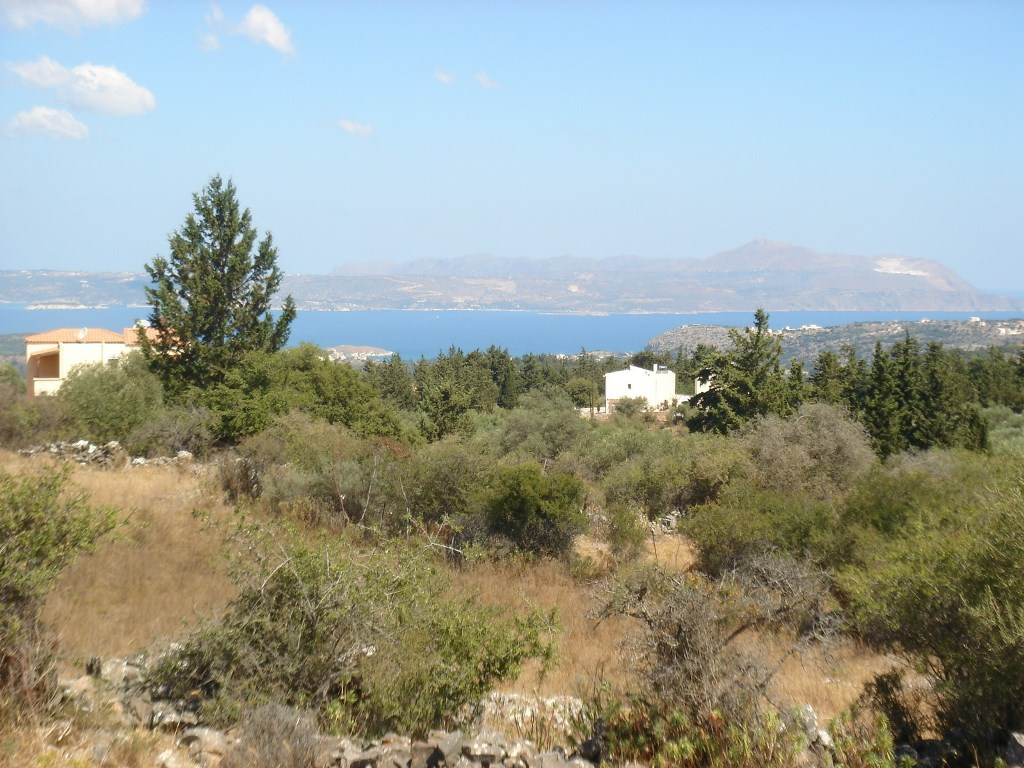 Land in Vamos Apokoronas  with sea views