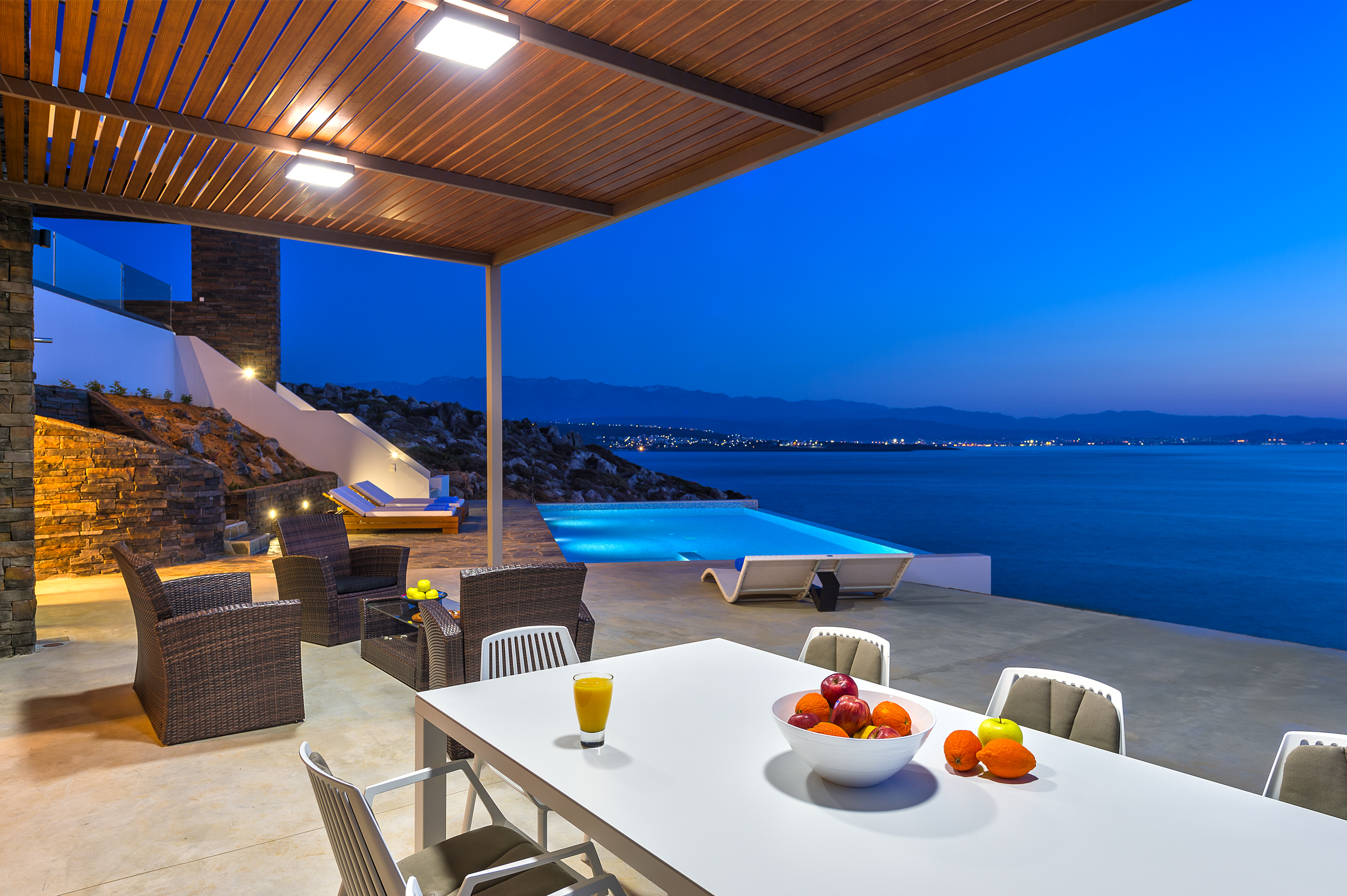 Luxury properties on Crete