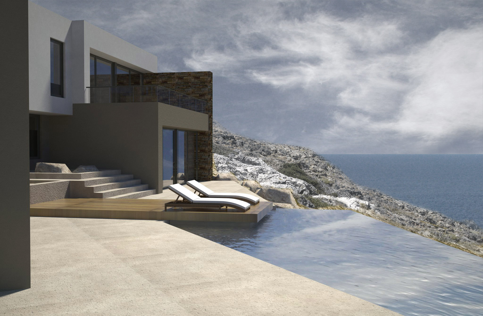Luxury living by the sea