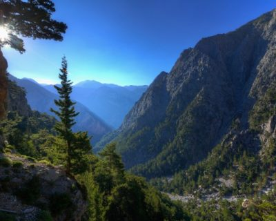 Samaria-Gorge-in-Chania-on-the-island-of-Crete
