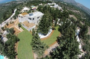 Villa-built-by-Euroland-Crete-with-landscaping