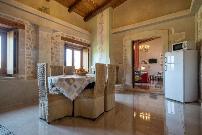Renovated stone hotel for sale Crete Greece