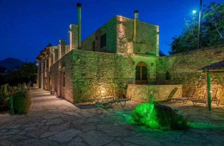stone villa for sale in rethymno crete