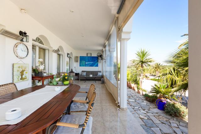 House for sale Crete Greece outdoor area