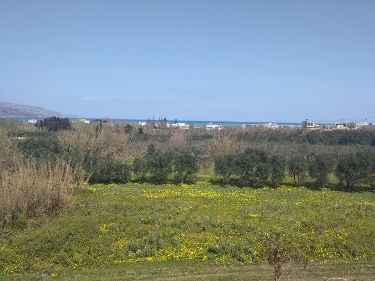 Villas for sale with private pools in Kolymbari Crete view