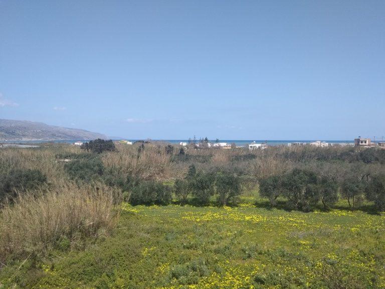 Villas for sale with private pools in Kolymbari Crete sky