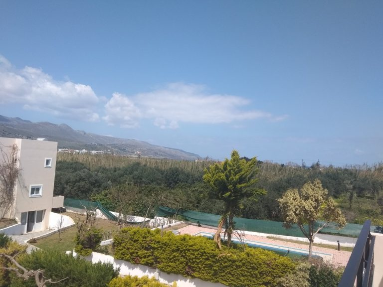Villas for sale with private pools in Kolymbari Crete olive trees