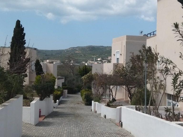 Villas for sale with private pools in Kolymbari Crete main allley