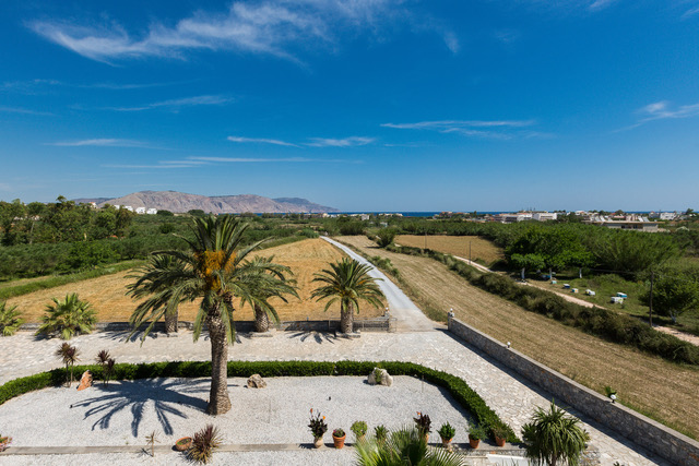 Investment property in Crete outdoor area