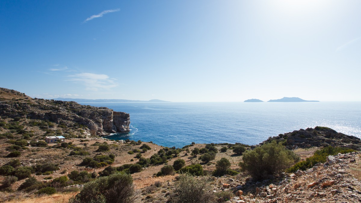 Land for sale in Rethymnon Crete with unobstructed sea views