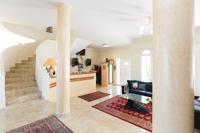 Luxury property investment Crete Greece marble columns