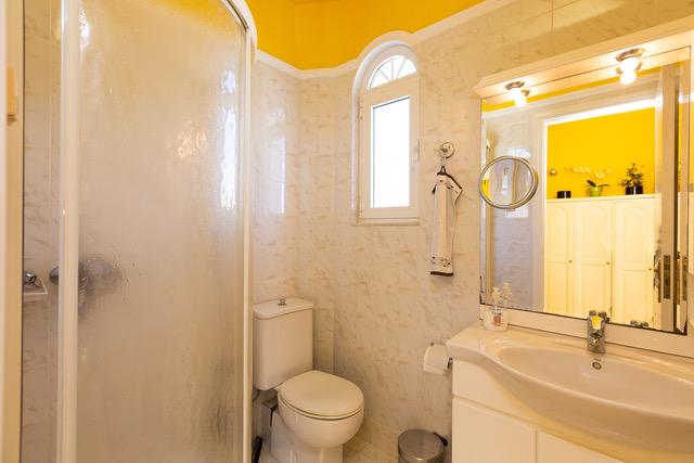 Luxury villa for sale Crete Greece bathroom detail