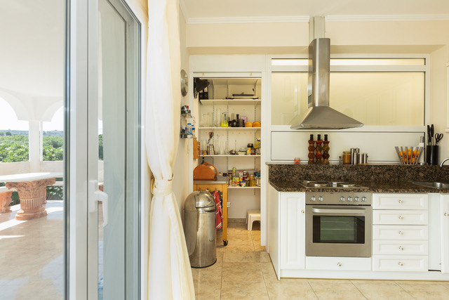 Luxury villa for sale Crete Greece fitted electrical goods