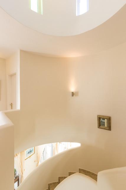 Luxury villa investment Crete Greece staircase details