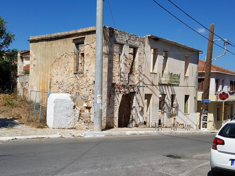 Old stone house for sale in Apokoronas Chania Crete front aspect