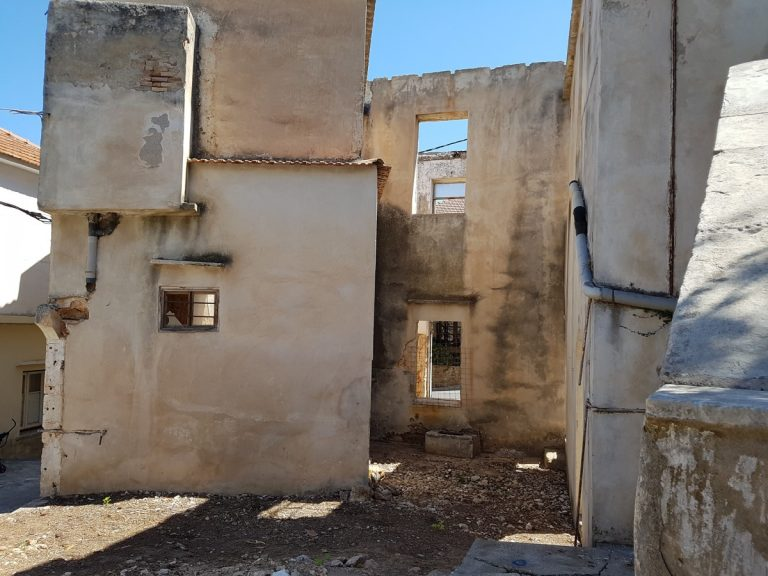 Old stone house for sale in Apokoronas Chania Crete side aspect