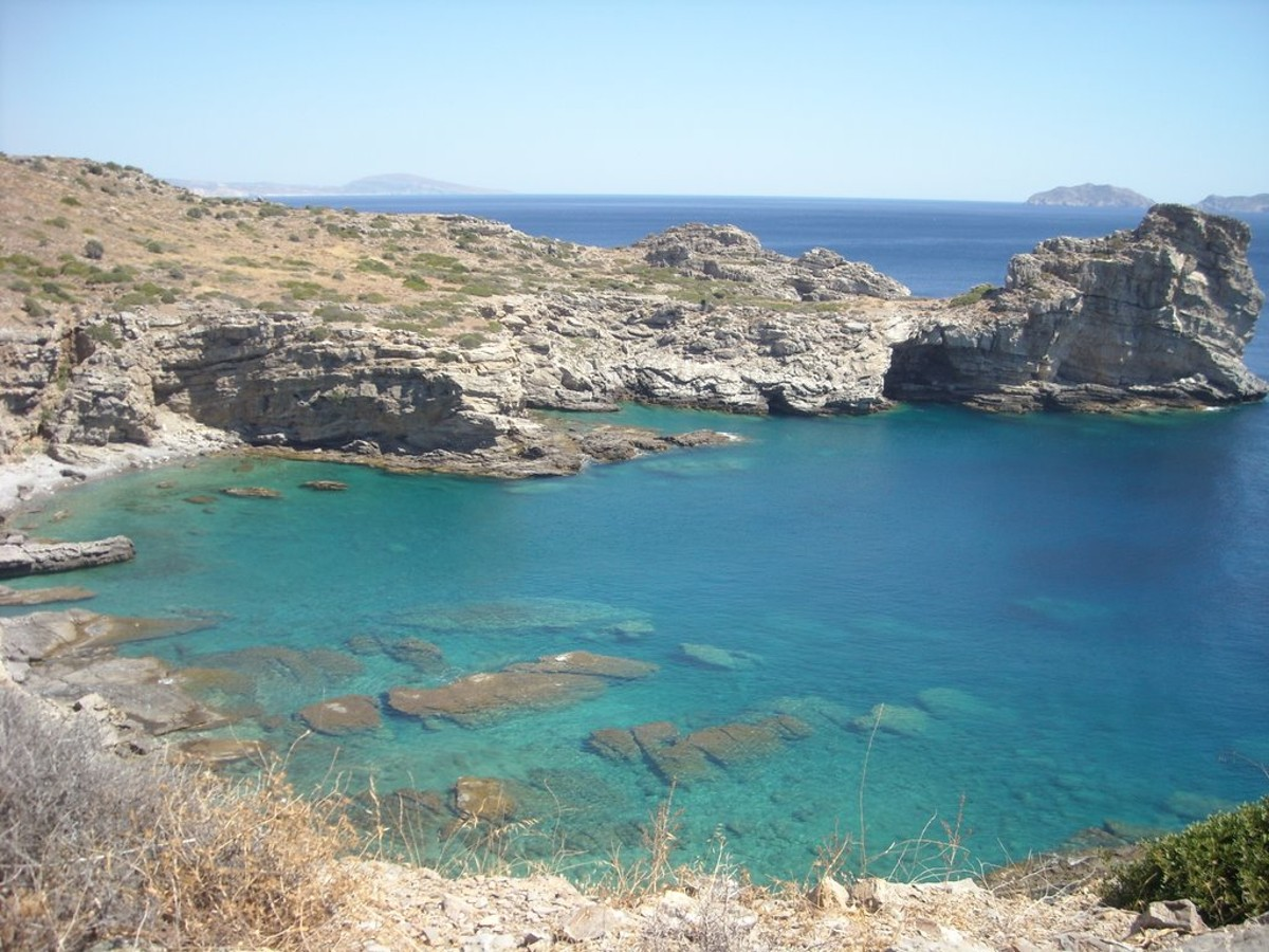 Seafront plot of land in Rethymnon Crete for sale with sea access