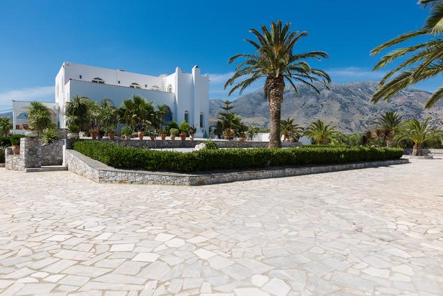 Villa for sale Crete Georgioupoli Crete external area
