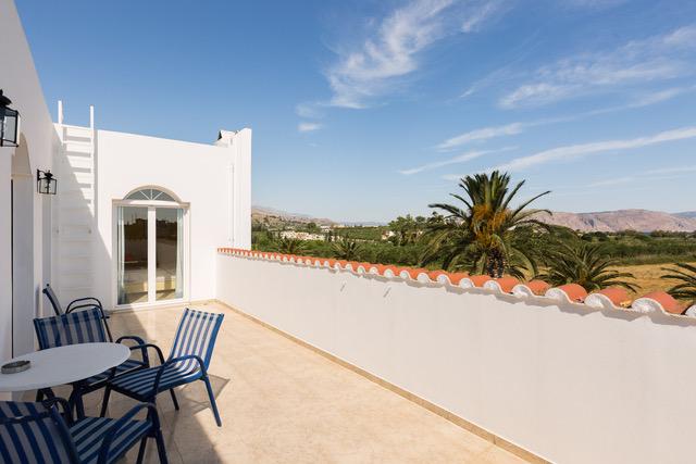 Villa for sale Crete Greece balcony