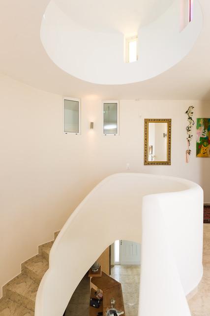 Villa for sale Crete stair detail