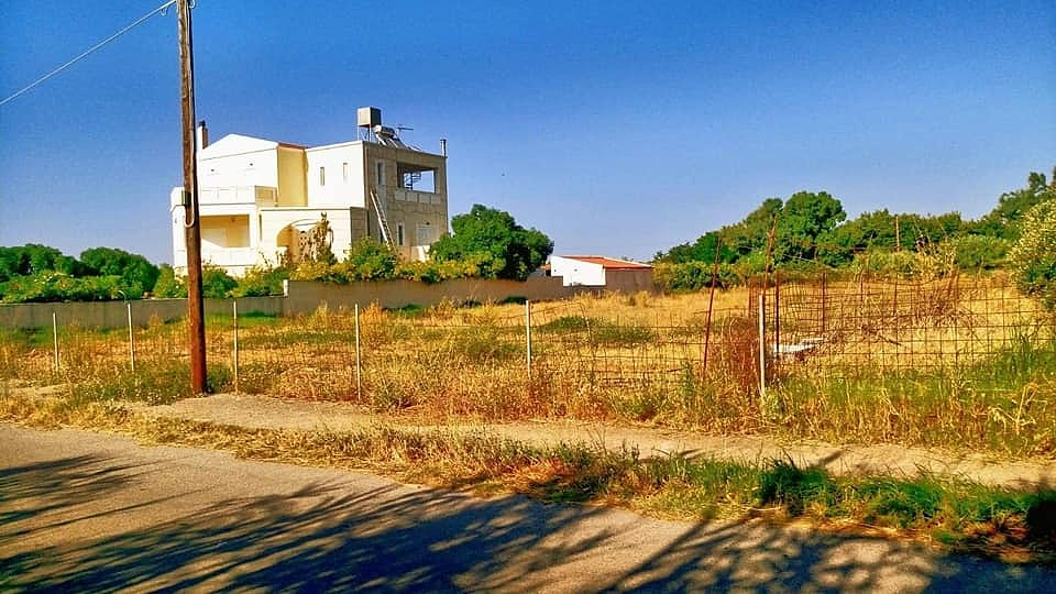Plot of land for sale in Chania Tavronitis