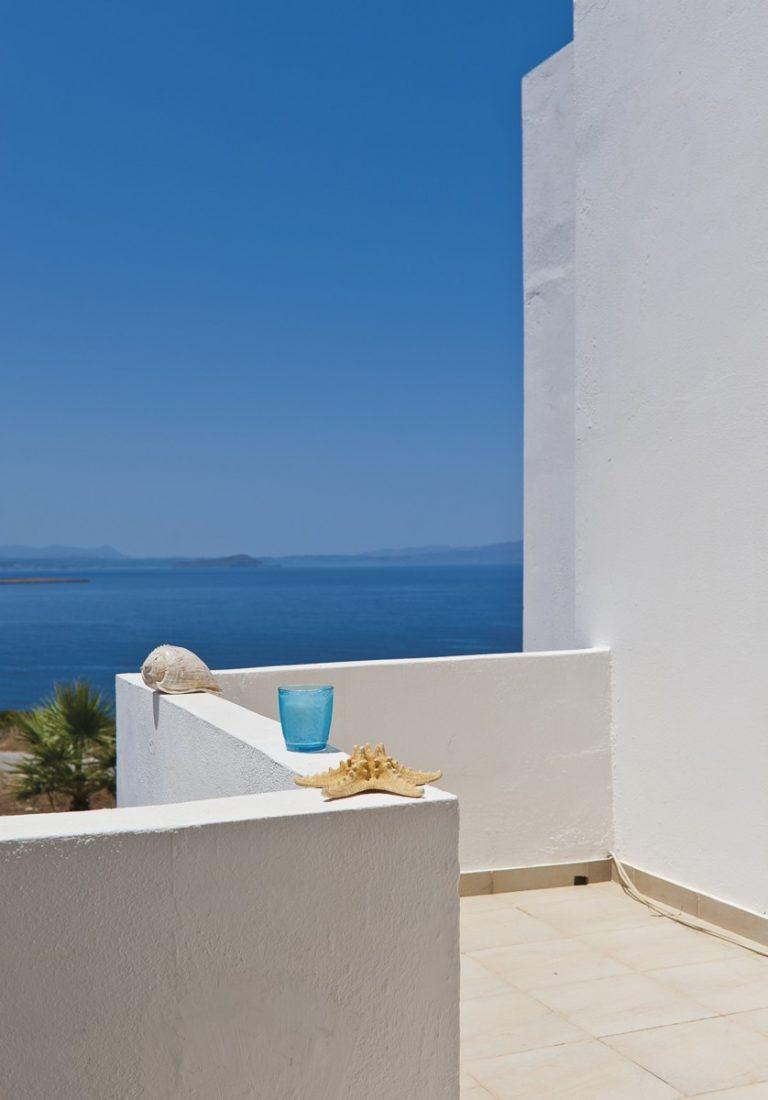Hotel for sale in Akrtotiri Chania balcony