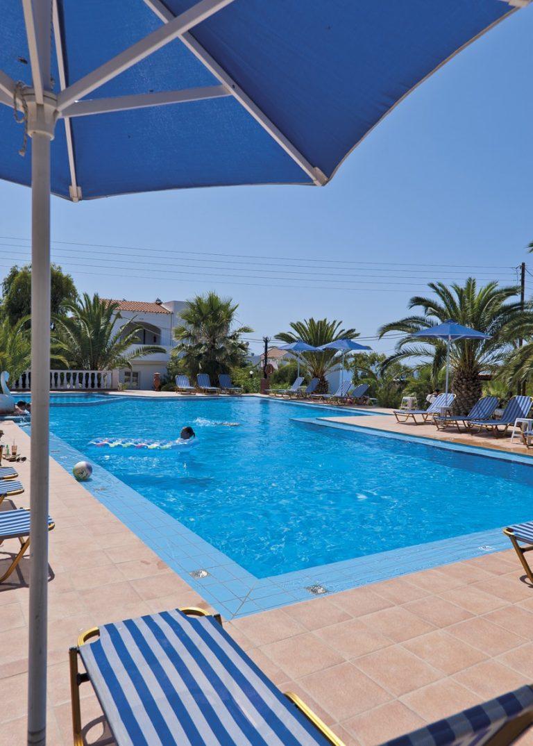 Hotel for sale in Akrtotiri Chania umbrella