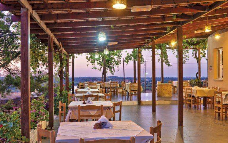 Hotel for sale in Akrtotiri Chania terrace