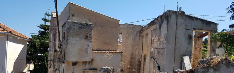 Old stone house for sale in Apokoronas Chania Crete kh100