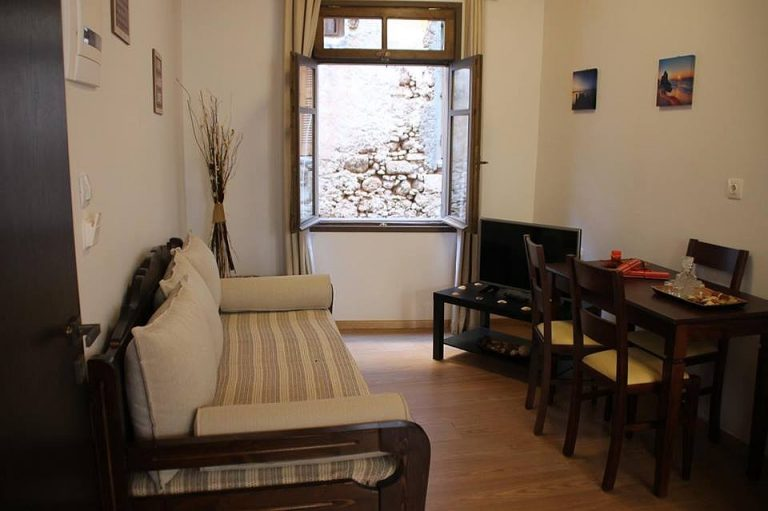 house for sale in Chania old town living area