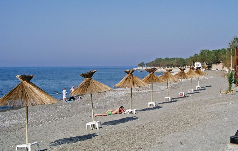 Tavronitis Beach in Platanias Chania Crete