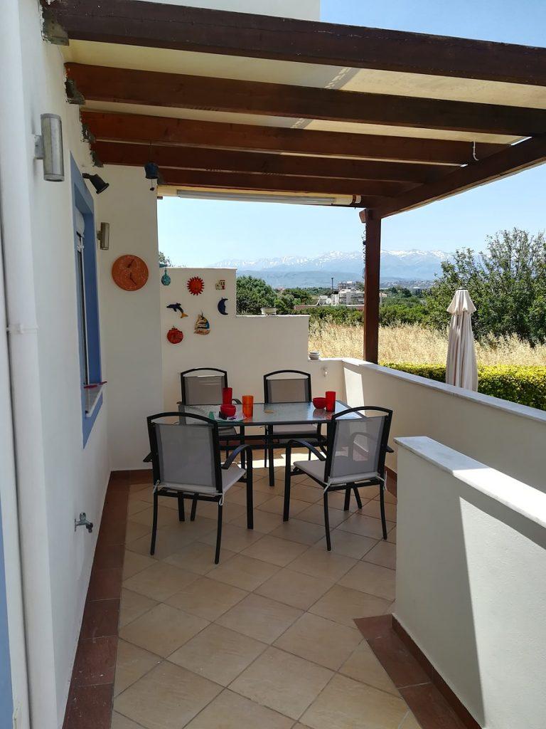 villa in chania crete for sale balcony