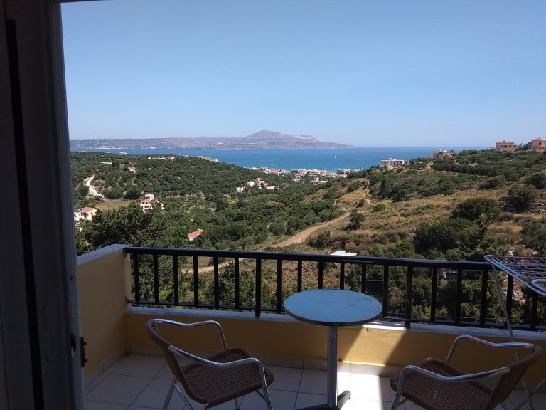 hotel for sale in chania balcony