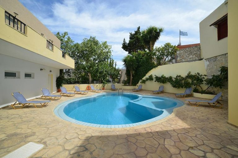 hotel for sale in chania pool view
