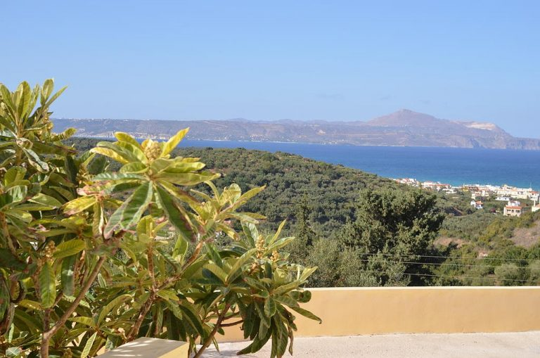 hotel for sale in chania sea and mountain view